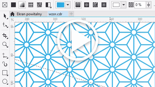 CorelDRAW X8. Wektorowe motywy. Wzór. Patterns. Background