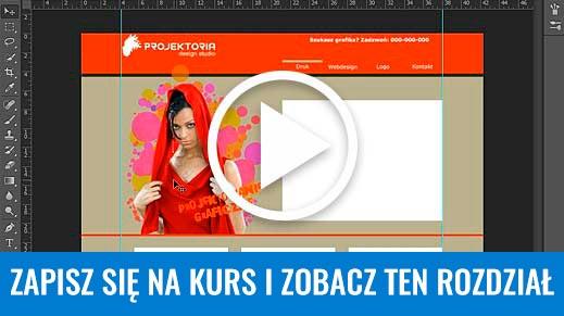 Projektowanie stron WWW. Bezpłatny kurs Photoshop.